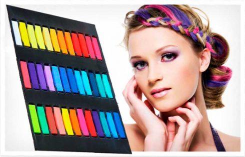Мелки для волос – яркий образ за считанные минуты